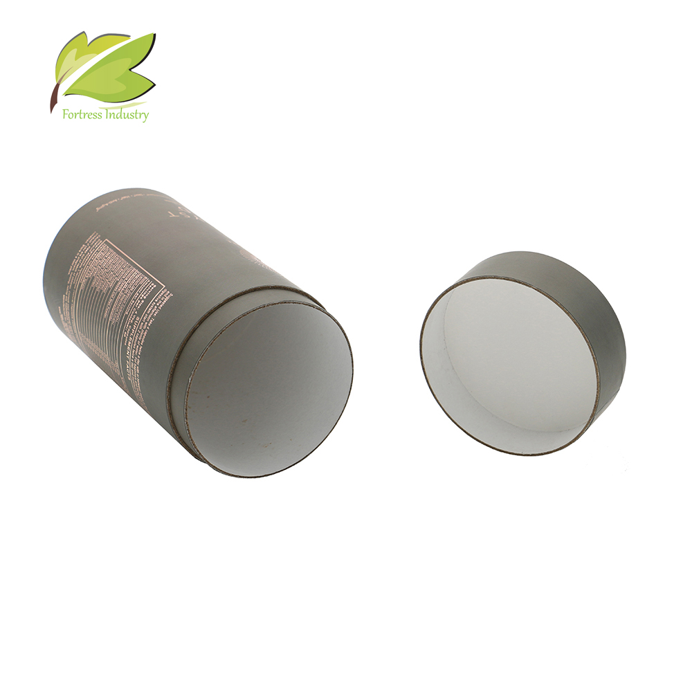 custom luxury recycle printed tea bottle storage tube wholesale from China