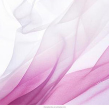 50D Dress Fabric Polyester Ombre Chiffon Fabric