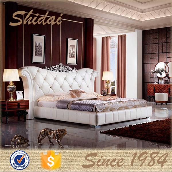 Últimas cama doble diseña muebles / más reciente dormitorio diseños ...