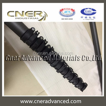 Brand Cner CCTV telescoping mast for security camera telescopic pole