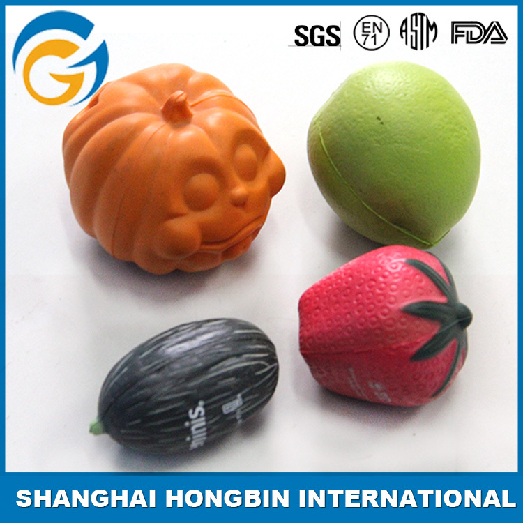 Fruits and Vegetables Style Antistress Ball