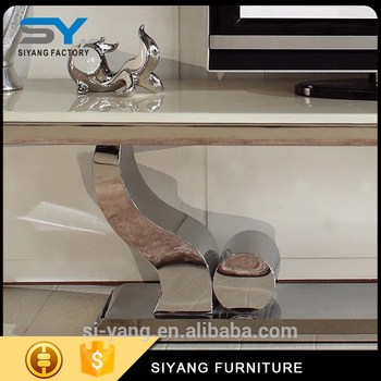 Low Price Of Tv Stand Wrought Iron Design Manufacturer