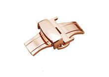 MOROW Высокое качество нержавеющая сталь Роскошные модные часы Пряжка Ремешки для наручных часов 12 14 16 18 20 22 24 мм застежка бабочка(Китай)