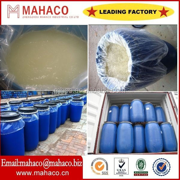 Directly manufacturer of sodium lauryl ether sulfate 70% (sles 70) with SGS/BC/ISO