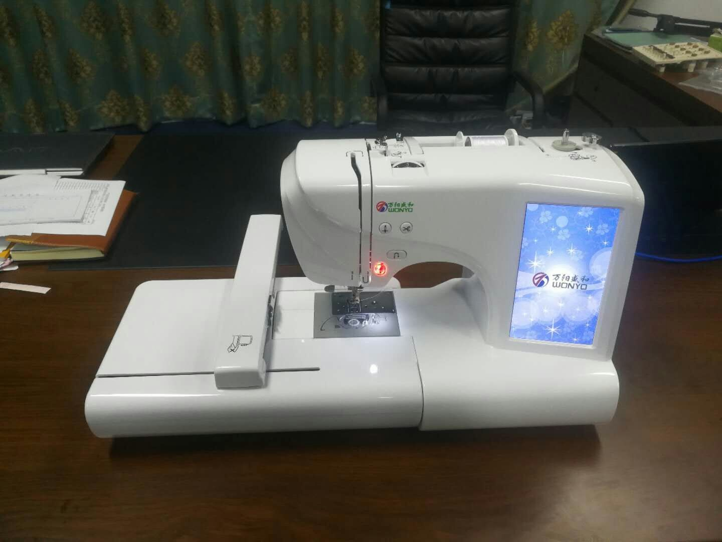 China Embroidery Sewing Machine is Similar to Janome Embroidery Machine,  67 Sewing Ways