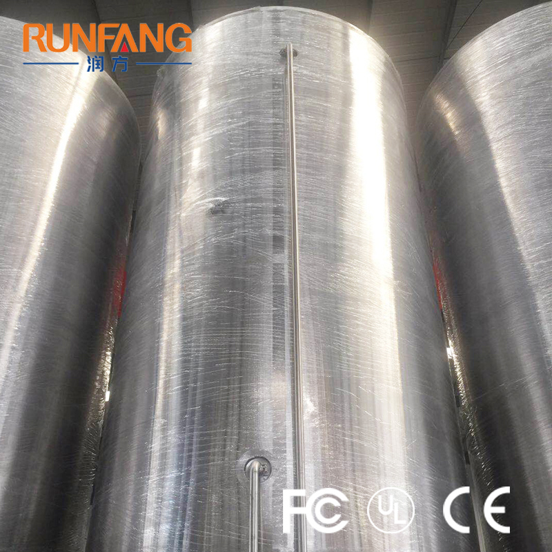 Polished Surface Beer Fermenting Tanks Fermenting Unit