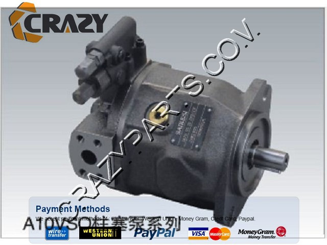 High quality excavator pump parts hydraulic pump piston pumps A10VSO100DR/31R-PPA12N00