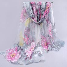 Chiffon lenço de seda 2015 cachecol feminino verão outono all jogo cachecol projeto longo ar condicionado cape lenços de seda do xaile XQ053