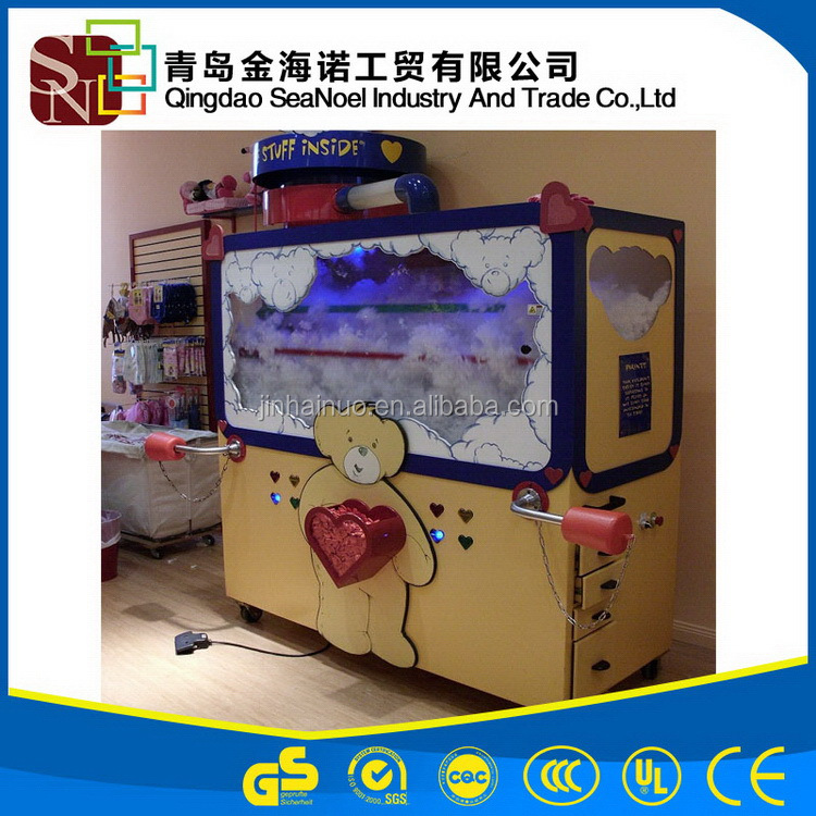 Shandong machinery good reputation widely used plush toy filling machine with high speed
