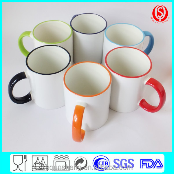2015 Hot sublimation mug for heat transfer printing