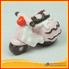 polyresin motorcycle with ic cream finish for mother's day gift ideas