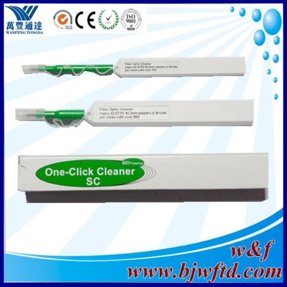 SC Connector cleaning Pen universal 2.5mm One Click Cleaner