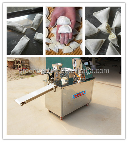 Low Price 304 stainless steel dumpling making machine samosa machine samosa making machine