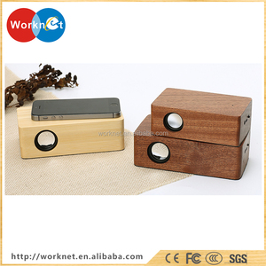 China factory cheap price high quality wood magic induction speaker,wood mutual induction speaker,bamboo induction speaker