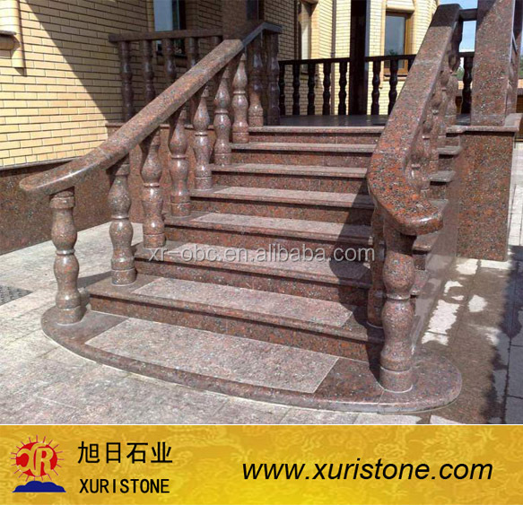 Genial Tan Brown Outdoor Stone Steps Risers Granite Stairs,Granite Anti Slip Stairs  Tile   Buy Outdoor Stone Steps Risers Granite Stairs,Granite Stairs Design  ...