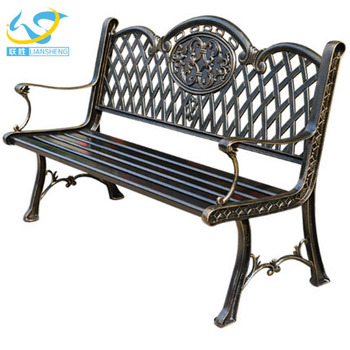 Bon Low Price Aluminium Bench Outdoor Chair Park Bench