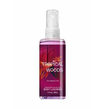 Body Luxuries Brand Tropical Woods scent 88ml GMP Approval Private label body spray for beauty