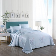100% Lenzing Tencel Phản Ứng In <span class=keywords><strong>Twill</strong></span> Dệt Sateen Dệt Duvet Cover Set