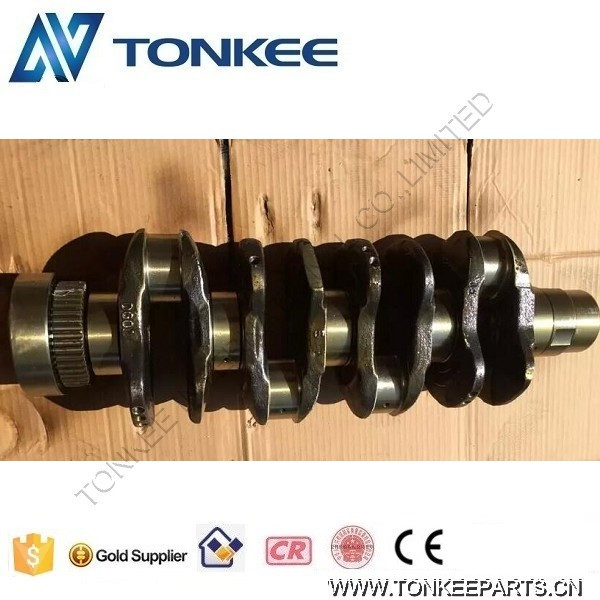 China Made EC140B Excavator crankshaft D4D Engine crankshaft