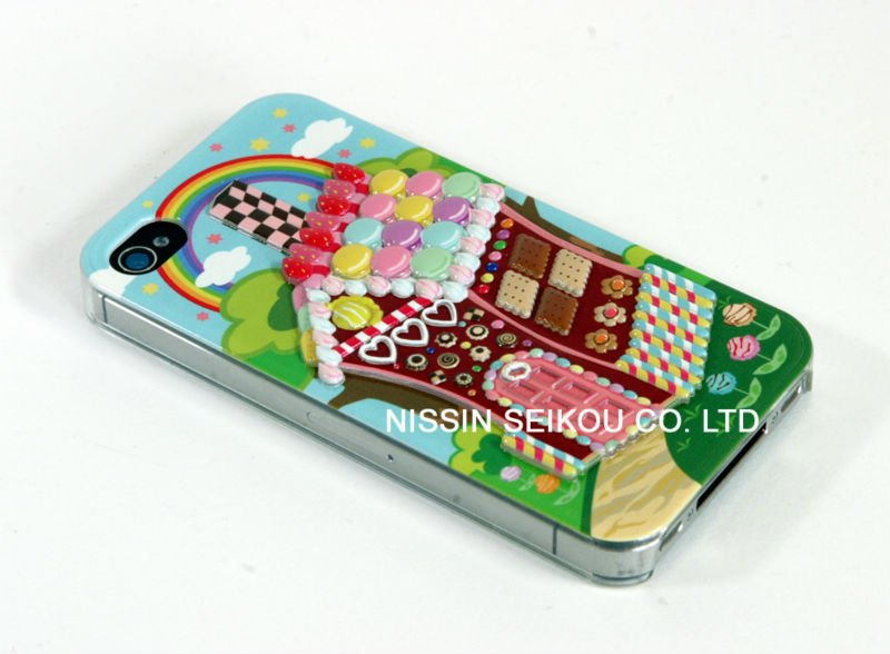 "Mobile Phone Case 3D CANDY HOUSE ""POP"" Made in JAPAN"