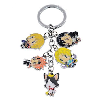 Final Fantasy Vii Advent Children Anime Figure Keychain Cat Cloud