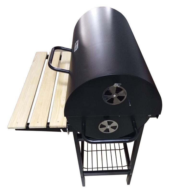 Oil Drum Charcoal Bbq Grill Buy Drum Bbq Grill,Houtskool