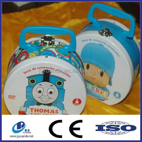 New design of food packaging box / cookie tin / tin lunch box
