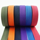 1 inch light weight pp bag webbing strap color herringbone tape