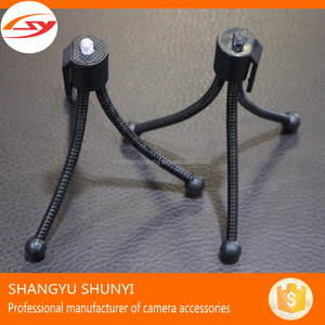 Cheap Plastic Screw or Screw Metal Mini Flexible Tripod