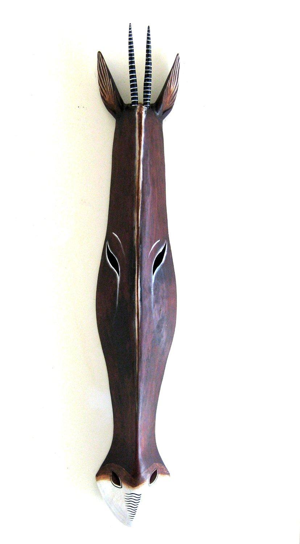 OMA African Giraffe Jungle Mask African Safari Wall Art Decor Large Size 22 Brand