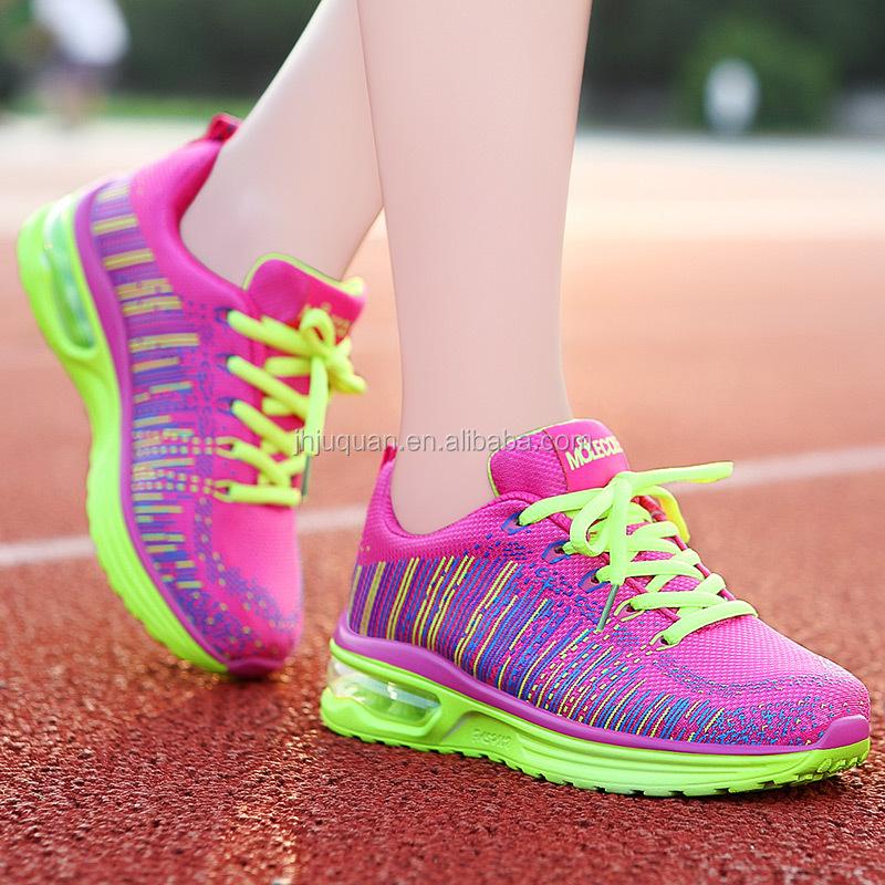 e04850755 2016 آخر جديد رياضة الجري أحذية حار مبيعات الانترنت دروبشيبينغ ماركة رياضية  المرأة الاحذية بالجملة