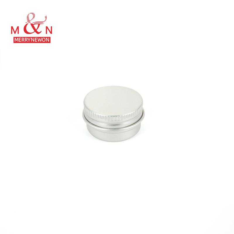 थोक रंग त्वचा की देखभाल के लिए कोटिंग फ्लैट दौर एल्यूमीनियम ढक्कन के साथ जार