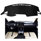 Dash Protector Dashboard Mat Center Console Cover Sun Cover Pad Fit