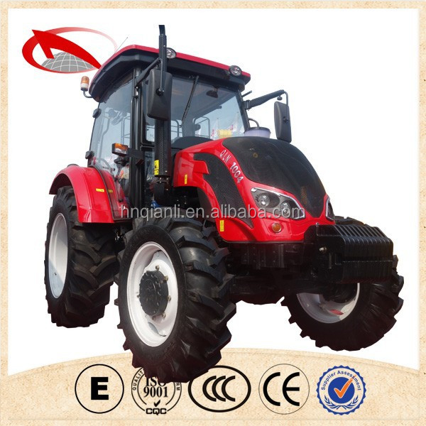 Henan Qianli international 25hp 40hp 55hp 100hp 150hp wheeled farm tractor