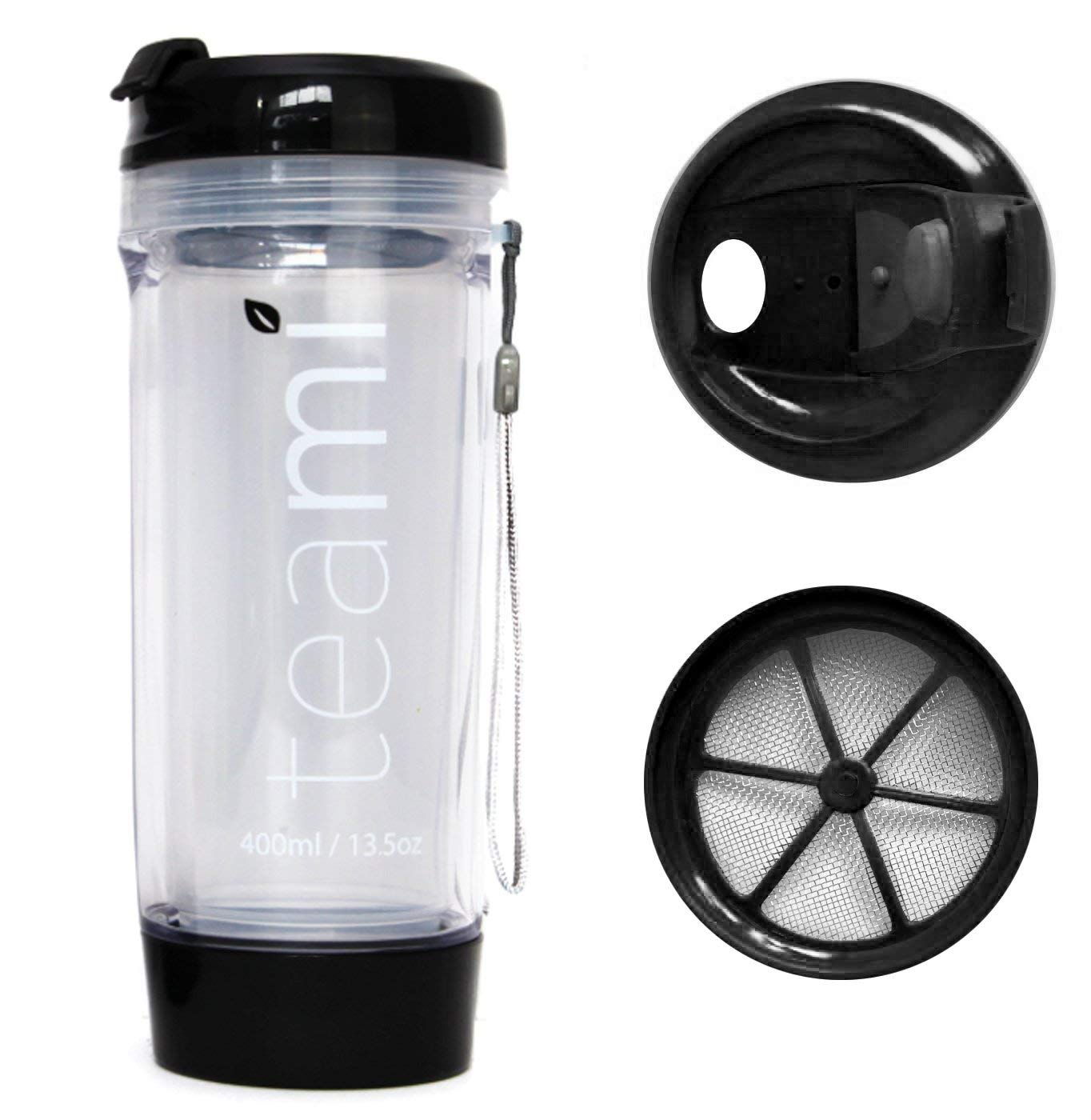 Healthful Hydration Double Wall Insulated Fruit Infuser Sports Water Bottle No Sweat Travel Tumbler Infusion Fruit Diffuser 22 Oz