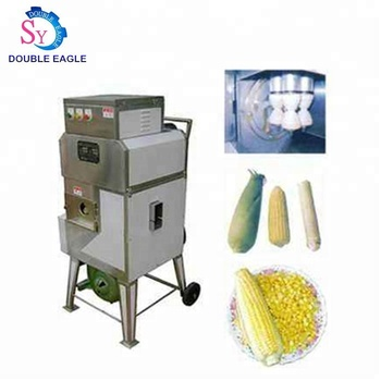 High quality stainless steel automatic fresh maize/sweet corn skin sheller machine/peeling machine price