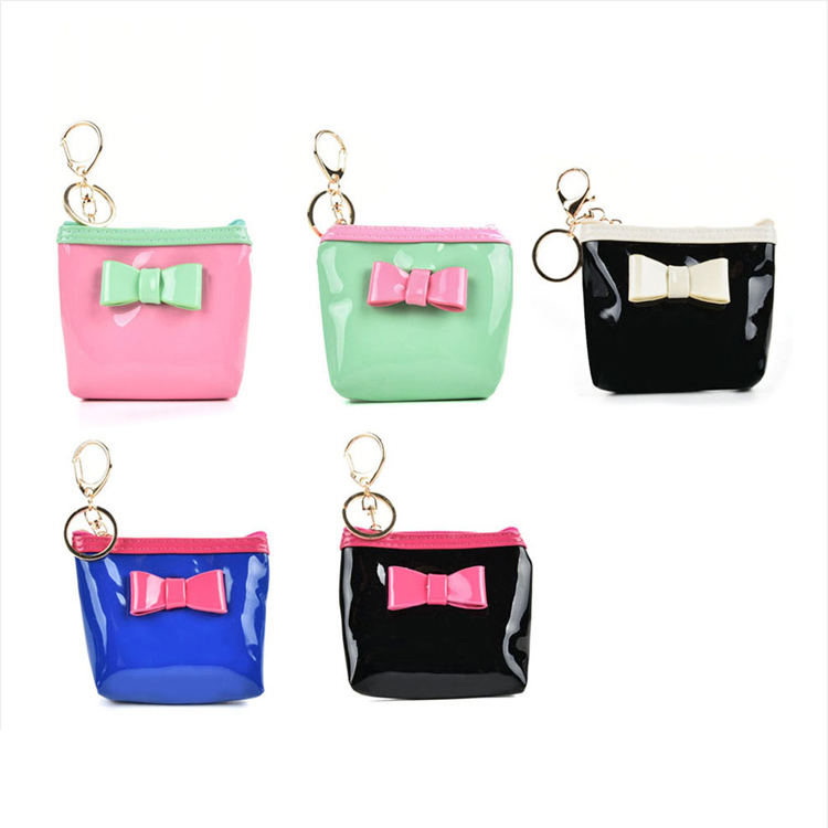 HEC Chinese Company Made Fashion Style Coin Money Bag Wallets For Girls