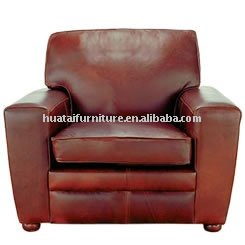 Synthetic Lether Sofa Chairs/ Single Sofa Chairs