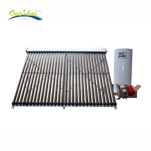 Heat Pipe Closed Loop Seperate Pressurized Solar Water Heater for European