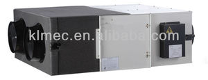 High efficiency ceiling mount Enthalpy recovery commercial media air ventilator system