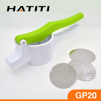 2017 New Kitchen Utensils Potato Press Ricer Plastic Garlic Gp20