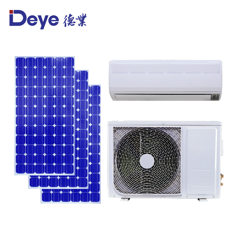 Seasonal promotion! btu9000 <strong>AC</strong>/DC hybrid solar air conditioner