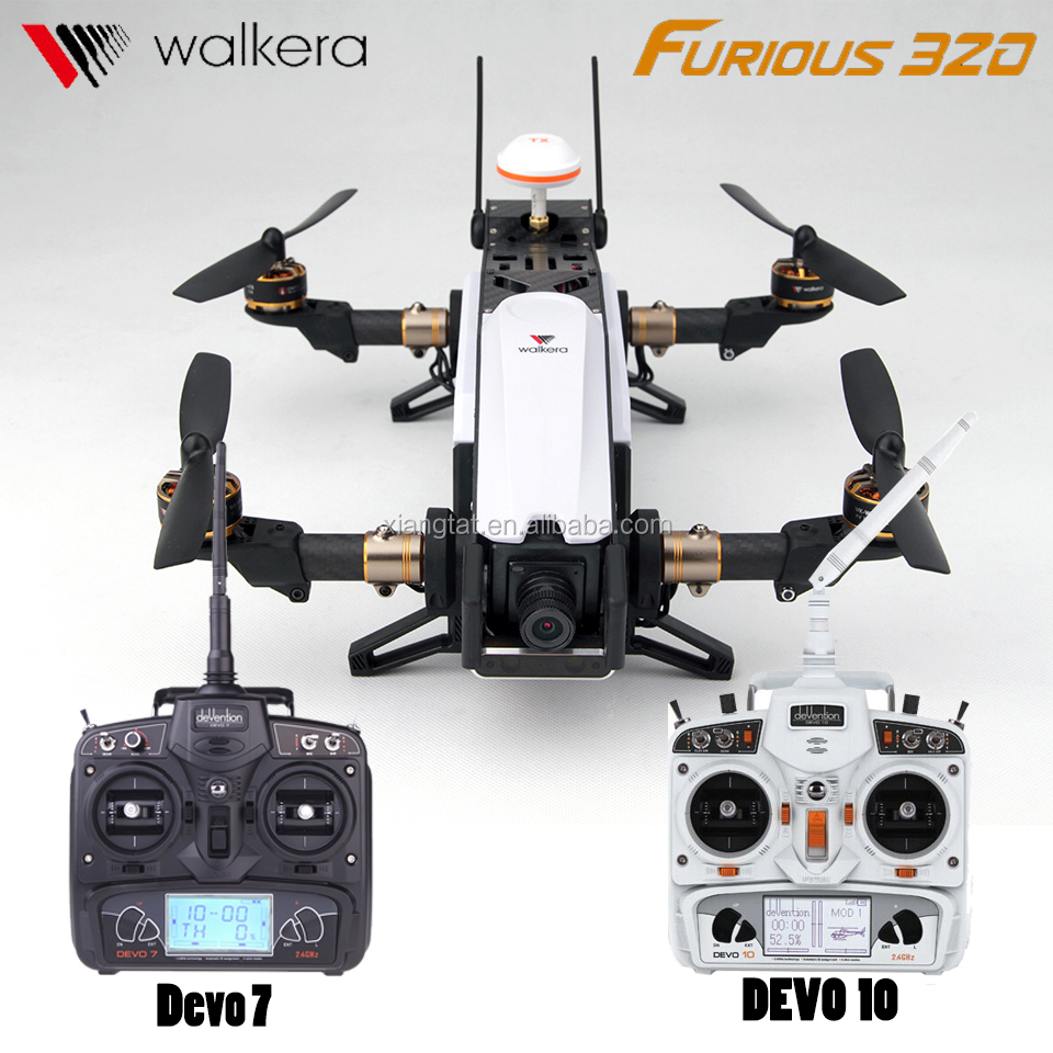 Walkera Furious 320 5.8G 1080P HD Camera OSD GPS CFP Modular Design FPV Racer with DEVO 7/ DEVO 10 Quadcopter Drone