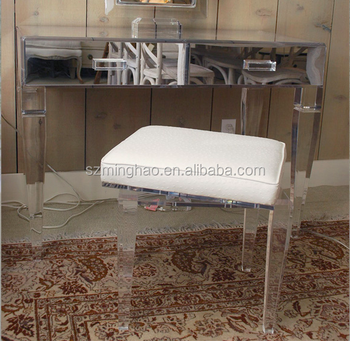 acrylic dressing table  Girl Dressing Table,Elegant Acrylic Dressing Table With Mirror - Buy ...