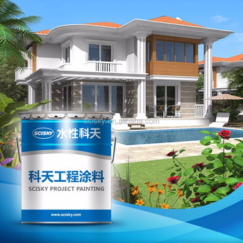 Hot sale all weather water based exterior wall paints - How fast does exterior paint dry ...