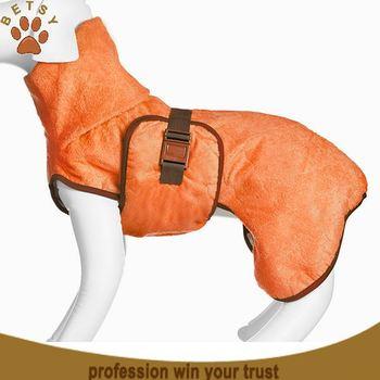 Niedlich Absorbierenden Designer Bademantel Fur Hunde Mantel Buy