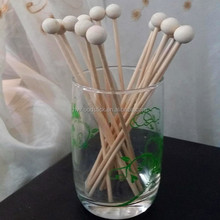 Cute Popular With Round Bead Sticks For Stirring Coffee