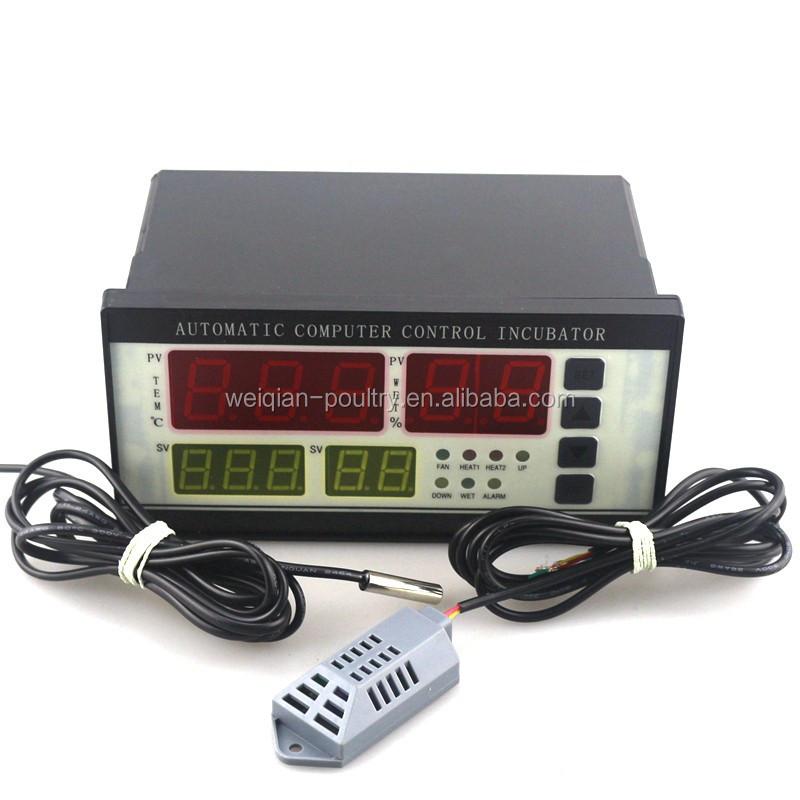Automático Controlador de Incubadora Termostato Humedad Temperatura Sensor