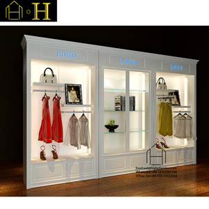 Retail Modern women Clothing Store Interior Designs Display Furniture