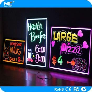New Fashion Acrylic Make Led Writing Board / Usb Erasable Neon Led Message  Menu Boards - Buy Acrylic Led Menu Board,Led Erasable Writing Boards,Usb